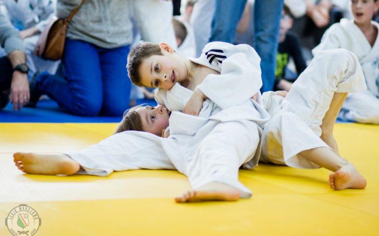 Mini turniej judo dla początkujących